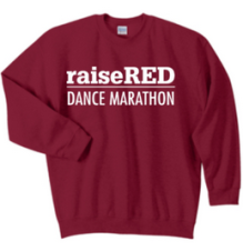 raiseRED Crew Sweatshirt