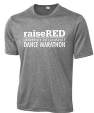 raiseRED Short Sleeve Dry Fit Tee